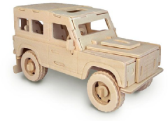 Wooden Land Rover kits